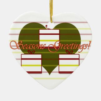 Seasons Greeting Ornament