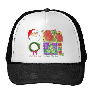 Season's Greeting To All Mesh Hat