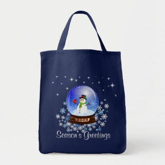 Season's Greetings - 2009 Snowglobe Gift Bag