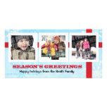 Season's Greetings 3 photo Card