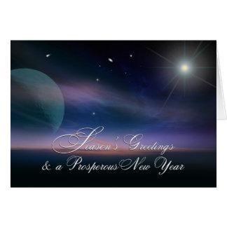 Season's Greetings & a Prosperous New Year Card