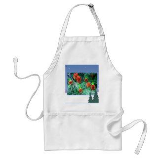 Seasons greetings_ adult apron