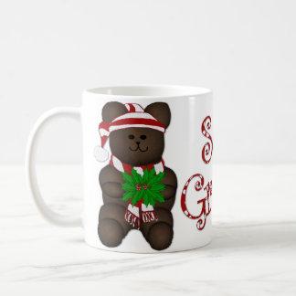 Seasons Greetings Bear Coffee Mug