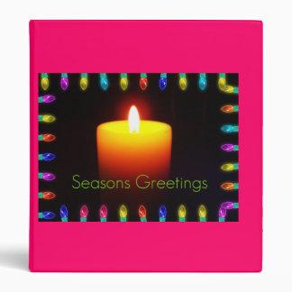 Seasons Greetings Binder