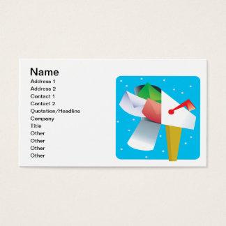 Seasons Greetings Business Card