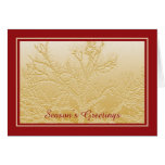 Season's Greetings Business Holiday Cards