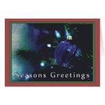 Seasons Greetings Card by David M. Bandler