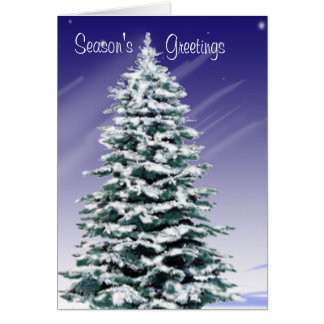 Season's Greetings Greeting Cards