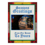 Seasons Greetings Card by David M. Bandler