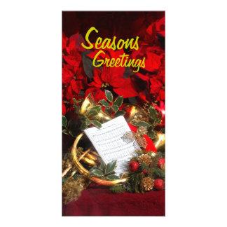 Seasons, Greetings Card