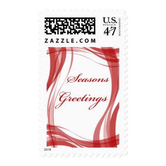 Seasons Greetings Card 11 Postage Stamp