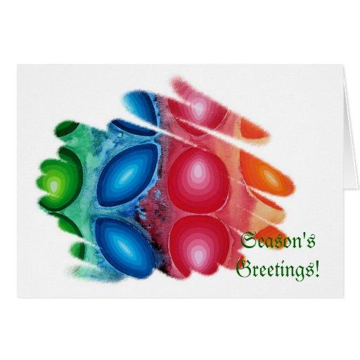 Season's Greetings Card Quadric