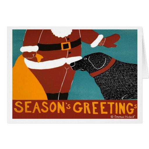 Seasons Greetings card Stephen Huneck