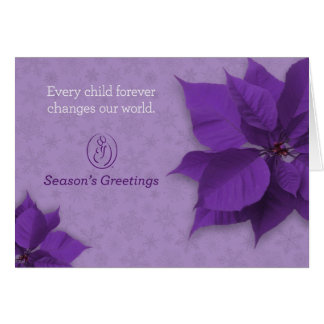 Season's Greetings Card - Trisomy 18 Foundation
