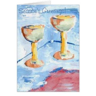 SEASON'S GREETINGS CHRISTMAS CARD BY RAINE CAROSIN