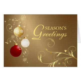 Season's Greetings - Christmas Holiday Cards