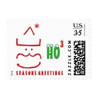 Seasons Greetings Christmas Holiday Postage Stamp