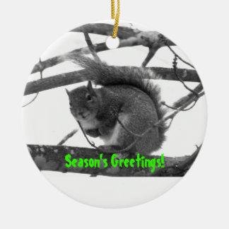Season's Greetings! Christmas Ornament
