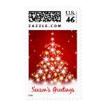 Season's Greetings Christmas Tree Postage