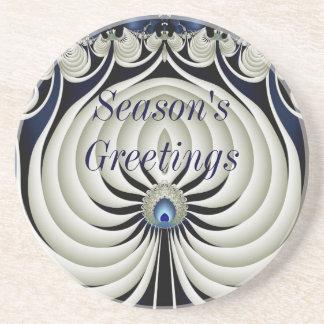 Season's Greetings Coaster