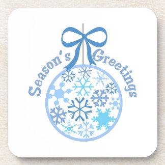 Seasons Greetings Coasters