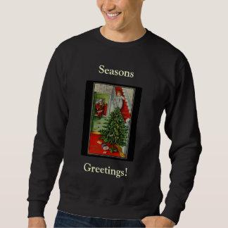 Seasons Greetings Crew Neck Sweatshirt