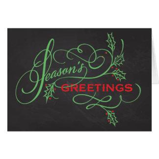 Season's Greetings Custom Folded Card