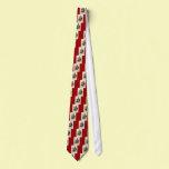 Season's Greetings Custom Tie