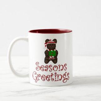 Seasons Greetings Doggy Mug