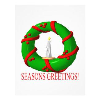 Seasons Greetings Flyer Design