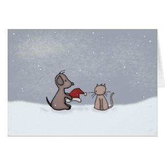 Season's Greetings Friends Greeting Cards