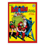 Season's Greetings From Batman And Robin Card