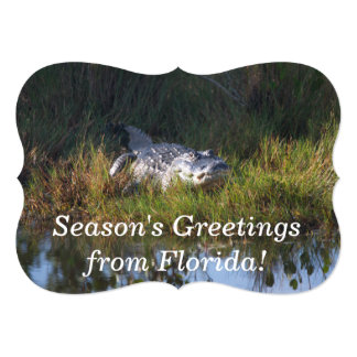 Seasons Greetings from Florida Card