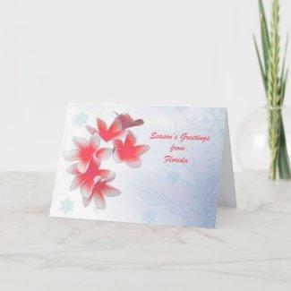 Seasons greetings from Florida Card