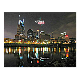 Season's Greetings from Nashville, Tennessee Postcard