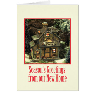 Season's Greetings from our New Home Cards