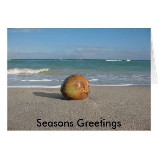 Seasons Greetings from Paradise Card
