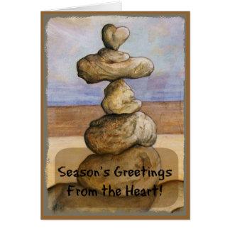 Season's Greetings From the Heart * Coastal Card