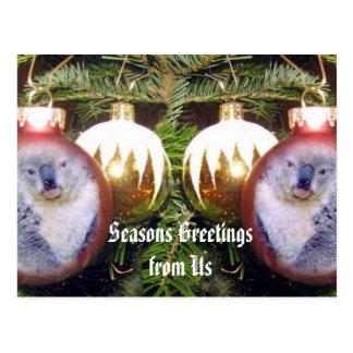 Seasons Greetings from Us_ Postcard