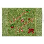 Season's Greetings gardener lawn care landscape Cards
