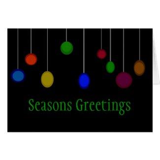 Seasons Greetings Greeting Cards