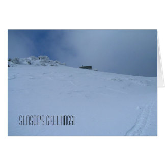 Season's Greetings Hager Mountain Fire Lookout Card