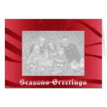 Seasons Greetings - Happy Holidays Greeting Card