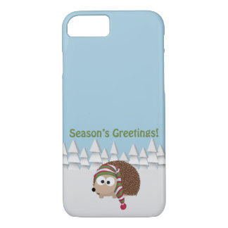 Season's Greetings Hedgehog iPhone 8/7 Case