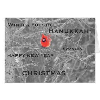Season's Greetings, Holiday Card