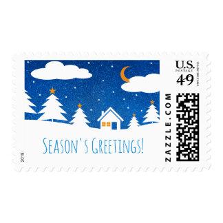 Season's Greetings | Holiday Gifts Postage