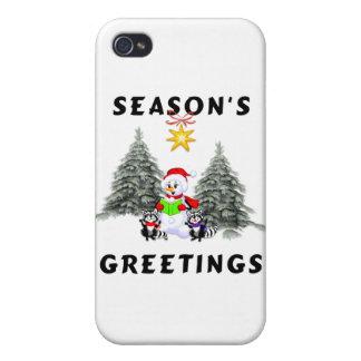 Seasons Greetings iPhone 4 Case