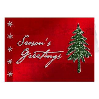 Season's Greetings Jewel Card