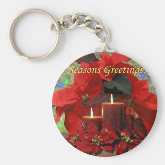 Seasons Greetings Keychain