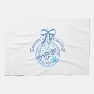 Seasons Greetings Kitchen Towels
